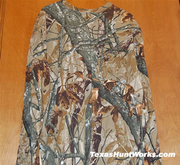 Camo Shirt Without Blacklight