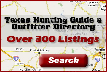 Texas Hunting Guide and Outfitter Directory