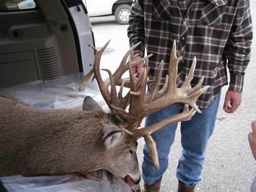 Possible Nebraska Record Buck