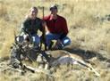 Bucks Antlers Locked - One Dead