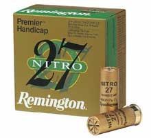 Remington Nitro 27 Shotgun Shell Box